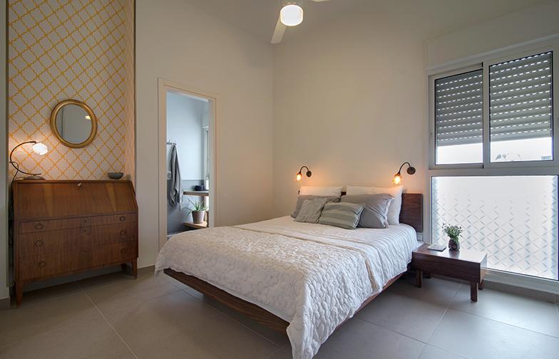 צילום: אילן נחום - חדר השינה