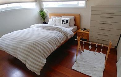 חדר השינה אצלנו בבית.