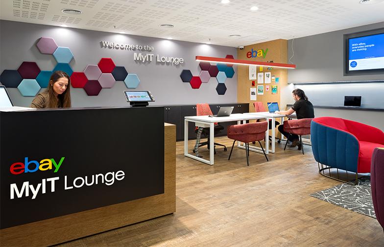 ebay פנו אלי לעיצוב לאונג' חדש של מחלקת ה IT. זהו מהלך שהחברה העולמית מובילה בכל אתרים בעולם.